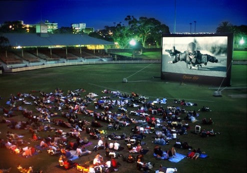 Cinebox Open Air Cinema Outdoor Movies