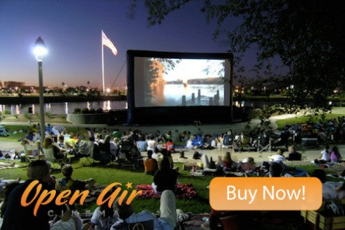 outdoor movie events