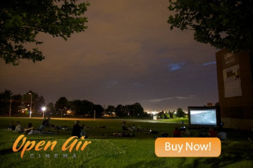 open air movies
