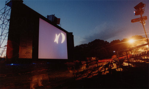 Open Air Kino in Vienna, Austria