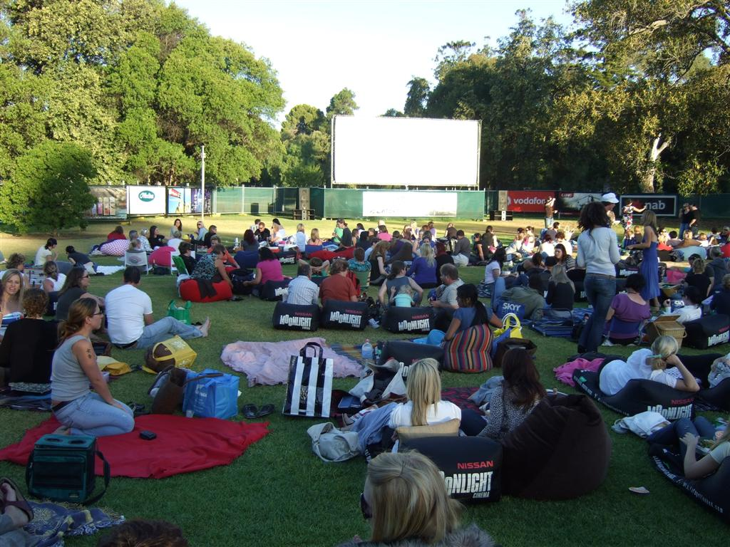 Outdoor Movies in Adelaide, Australia