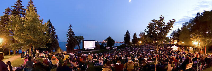 Outdoor Movie Summer Series in Duluth, Minnesota