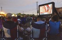 Outdoor Movies in the Park in Helotes, Texas