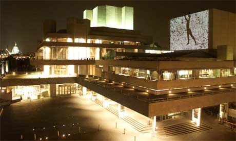 Outdoor Movies at London's National Theater, United Kingdom