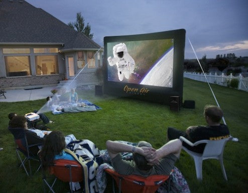 Open Air Cinema 9' Home Outdoor Movie System