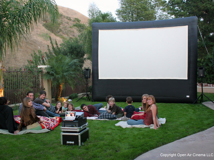 Outdoor Movies in Your Backyard