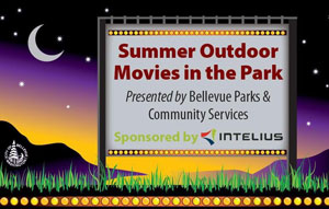 Outdoor Movies in the Park in Bellevue, Washington