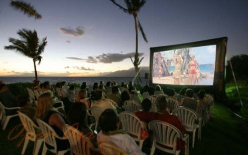 Open Air Cinema Outdoor Movie System