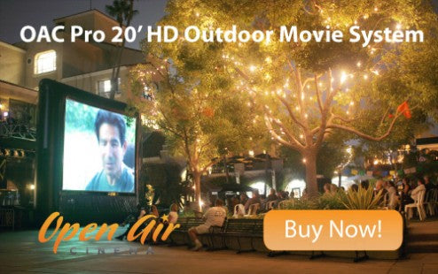 Pro 20 Outdoor Movie System