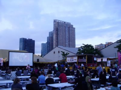 Outdoor Movies at the Food Film Festival in New York City