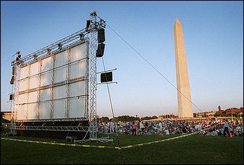Outdoor Movies in Washington DC