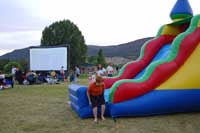 Outdoor Movies in Gypsum, Colorado