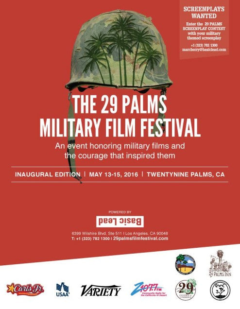 Variety advert for the California-based 29 Palms Military Film Festival
