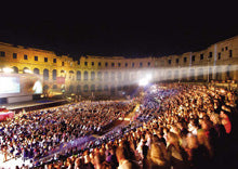 Outdoor Movies at the Pula Film Festival in Pula, Croatia