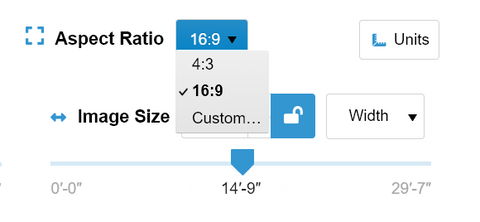 Aspect Ratio picker