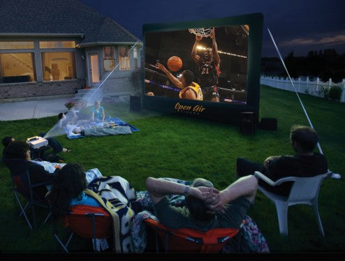 basketball outdoor cinema