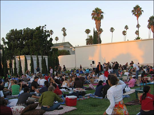 Outdoor Movies at the Hollywood Forever Cemetery in Los Angeles