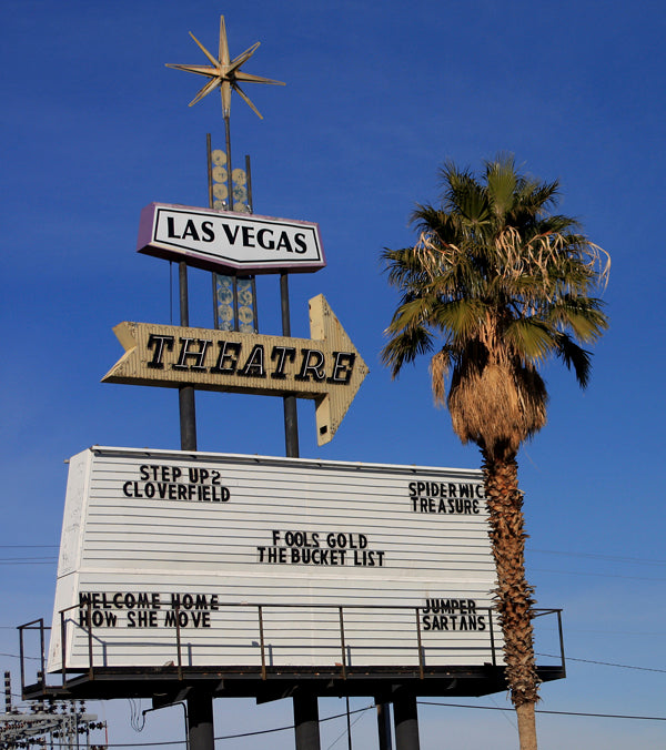 Outdoor Movies at the Las Vegas Drive-In, Nevada