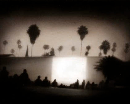 Outdoor Movies at the Hollywood Forever Cemetery