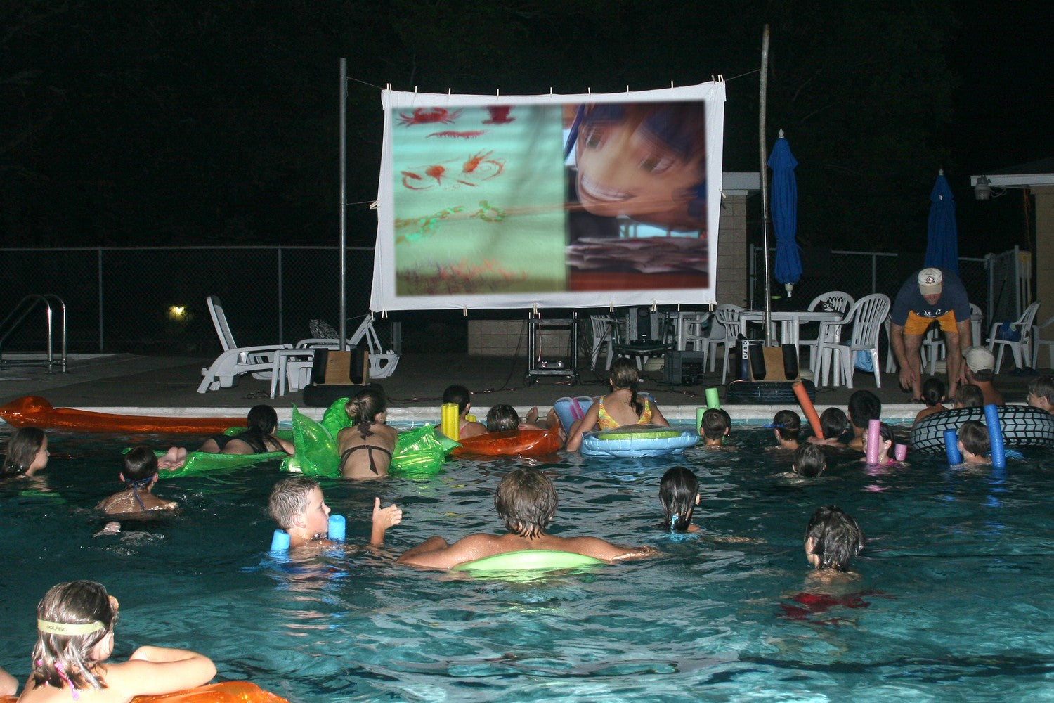 Dive-In Outdoor Movies at the University of Texas at San Antonio