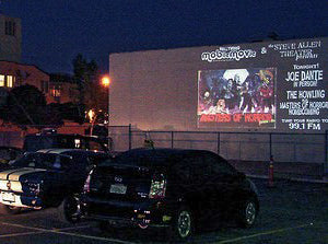 Outdoor Movies in Los Feliz, California