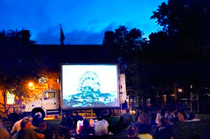 Outdoor Movies in Brooklyn, New York