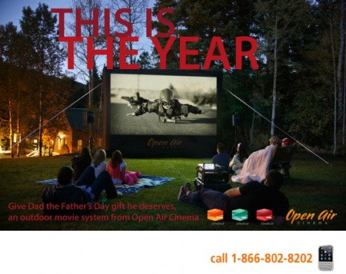 outdoor movies father's day