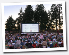 Outdoor Movies in Beaverton, Oregon