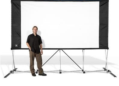 Fold Out Movie Screen