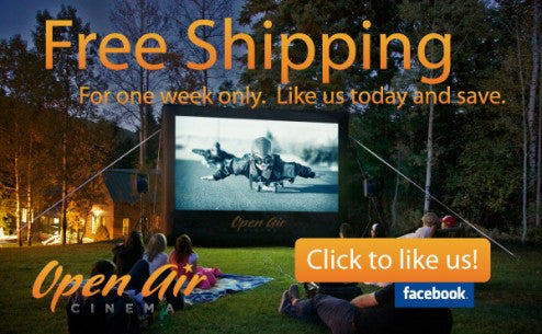 outdoor movies free shipping