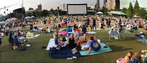 Screen on the Green in Centennial Park