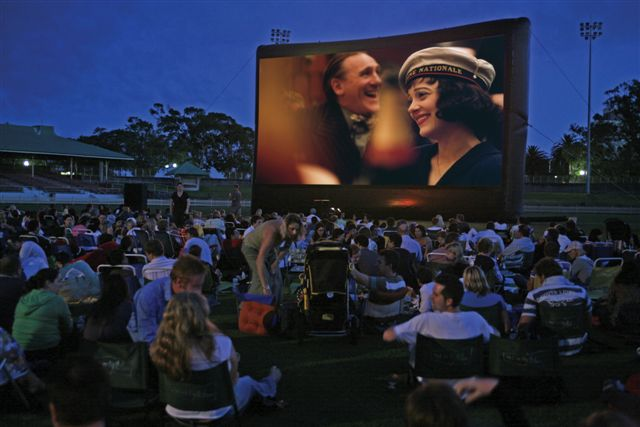 Outdoor Movies at Helga's Film Festival in Australia