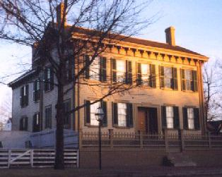 The Lincoln Home in Springfield, Illinois
