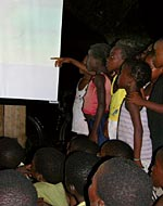 Outdoor Movies Through UNICEF's Mobile Open Air Cinema in Santa Catarina, Sao Tome and Principe