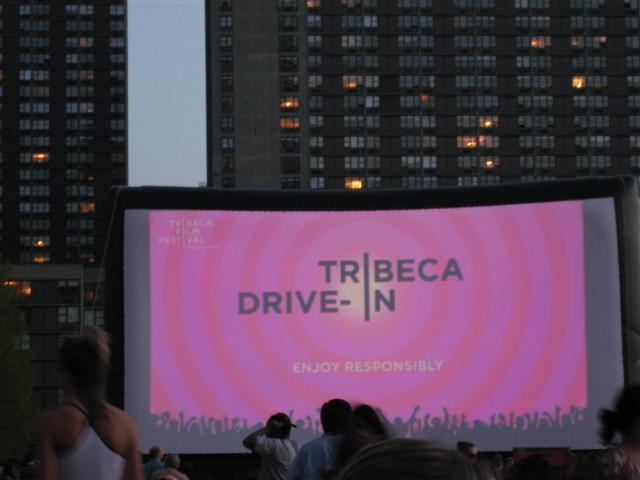 Outdoor Movies at the Tribeca Film Festival