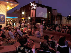 Outdoor Movies in Baltimore, Maryland