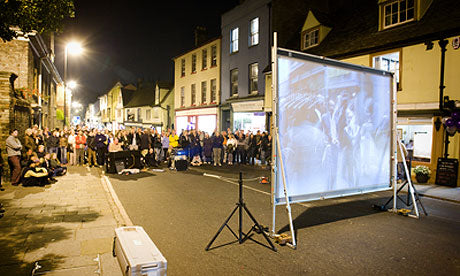 Outdoor Movies Shown at the Cambridge Film Festival