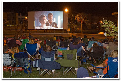 Outdoor Movies in Carolina Beach, North Carolina