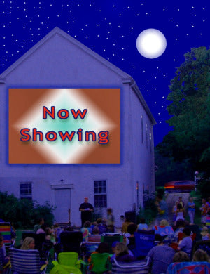 Outdoor Movies in Wellfleet, Massachusetts