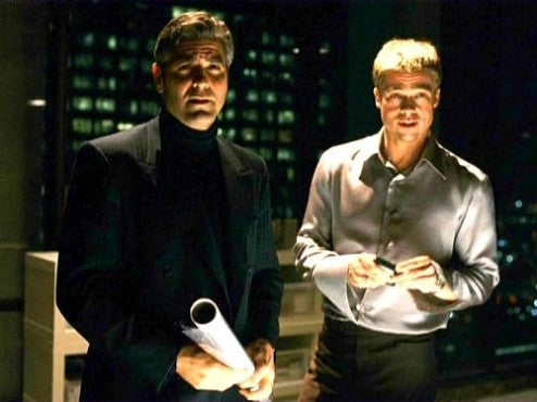 Clooney and Pitt have big plans in Soderbergh's remake of