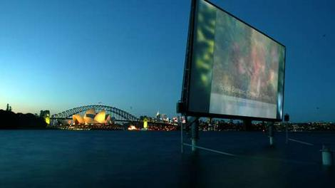 Outdoor Movies at the St. George Open Air Cinema in Sydney, Australia
