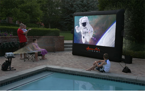 Open Air Cinema's Inflatable Movie Screen