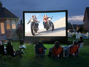 Outdoor Movies at Home with Open Air Cinema