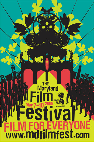 Outdoor Movies at the Maryland Film Festival