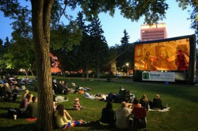 Outdoor Movies in Tampa, Florida