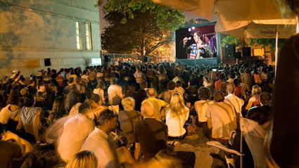 Outdoor Movies as Southpoint Park, Roosevelt Island