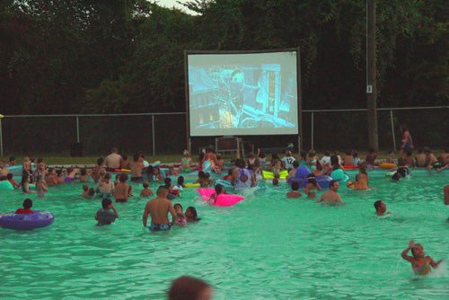 Outdoor Dive-In Movies in Austin, Texas