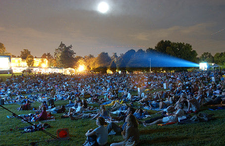 hy watch a movie from stadium seats in a theater when you could be picnicing under the stars at Strathmore? (Comcast Outdoor Film Festival)