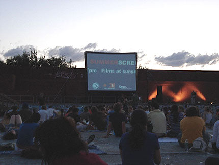 Outdoor Movies at McCarren Park Pool, New York City