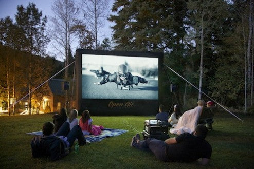 Open Air Cinema Staycation